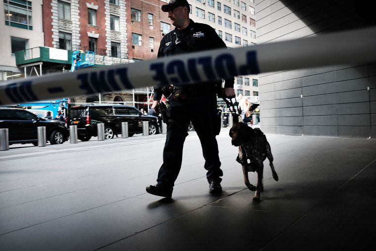 Image: Time Warner Center Evacuated In New York After Receiving Suspicious Package