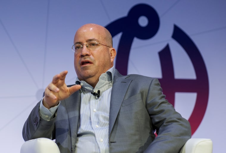 Jeff Zucker  attends a conference on 'Creating Better Content and Media' at the Mobile World Congress 2018 on February 26, 2018 in Barcelona, Spain.