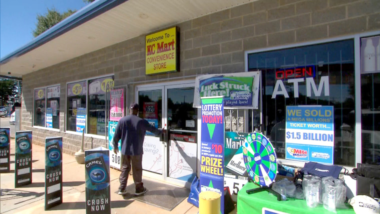 KC Mart #7 at 303 Lee Vaughn Rd. in Simpsonville sold the winning Mega Millions ticket in South Carolina.