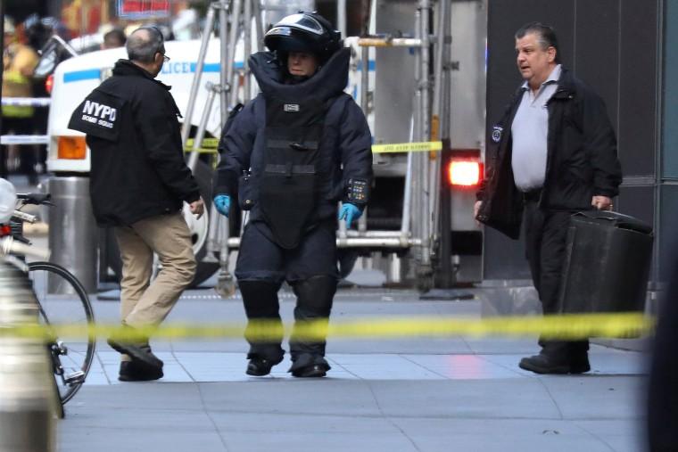 Image: NYPD Bomb Squad
