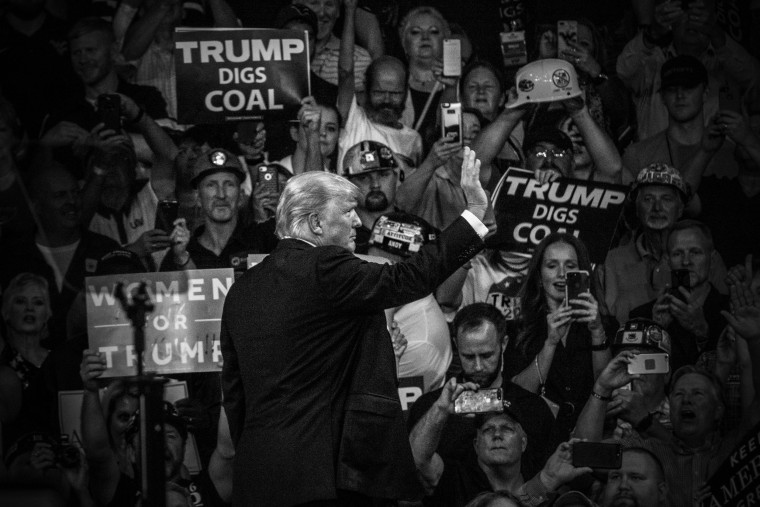 Image: President Donald Trump Holds Rally in West Virginia