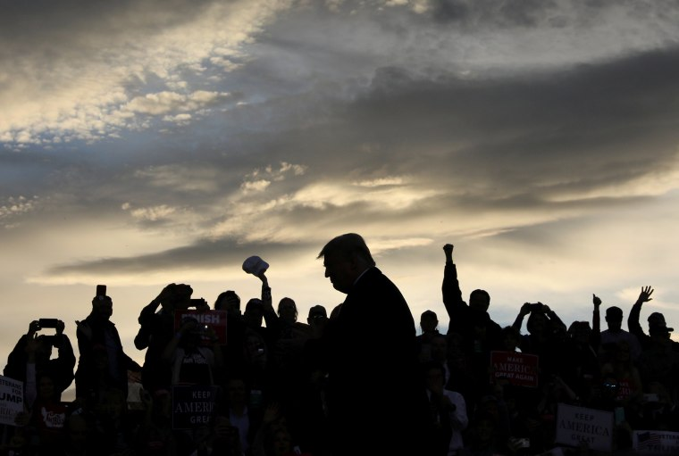 Image: U.S. President Trump rallies with supporters at Missoula International Airport in Missoula, Montana