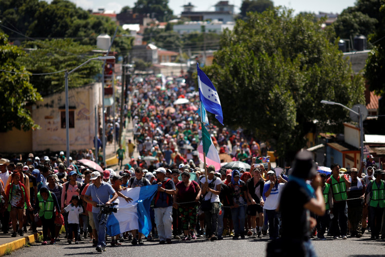 Image: Caravan reaches Tapachula
