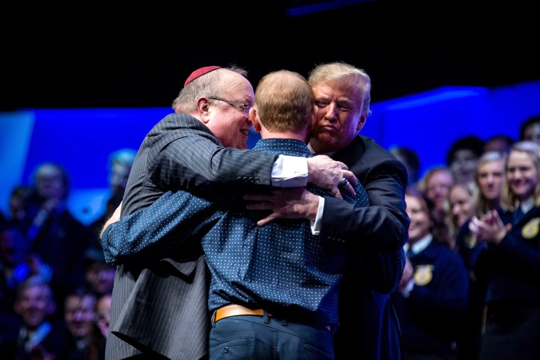 Image: U.S. President Donald Trump at the 91st Annual Future Farmers of America Convention
