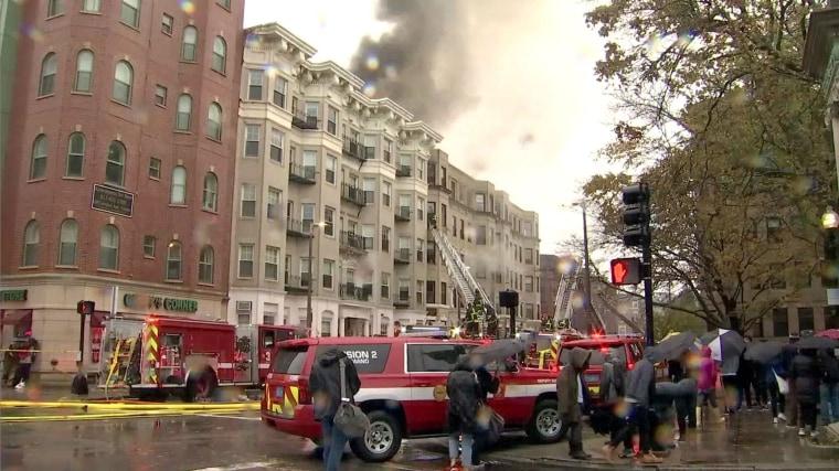 Image: Boston 7 alarm fire