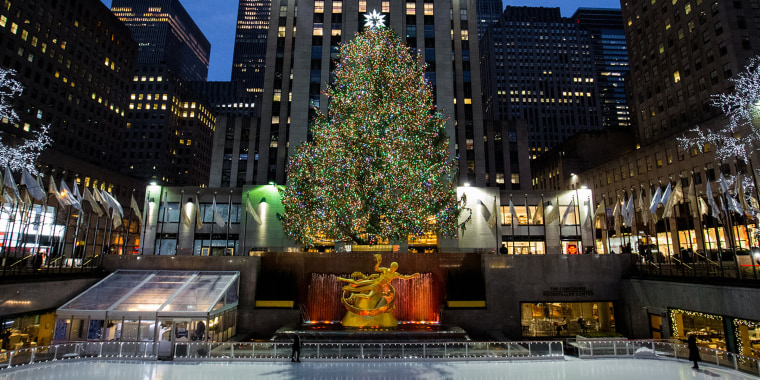 IRockefeller Plaza Christmas Tree