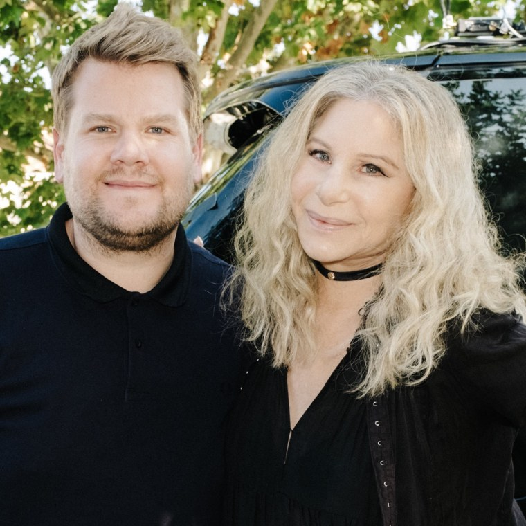 James Corden / Barbra Streisand Carpool Karaoke