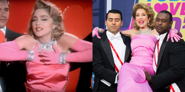 TODAY show Halloween: Kathie Lee Gifford as Madonna