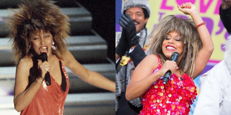 TODAY show Halloween: Sheinelle Jones as Tina Turner