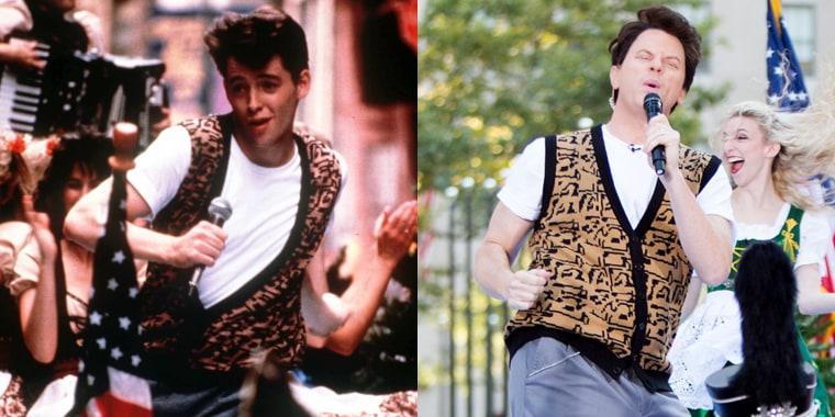 TODAY show Halloween: Willie Geist as Ferris Bueller