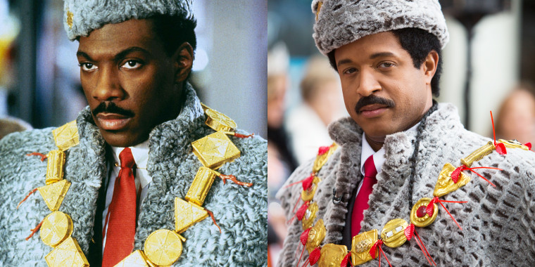 "TODAY show Halloween: Craig Melvin as ""Coming to America"" character Prince Akeem"