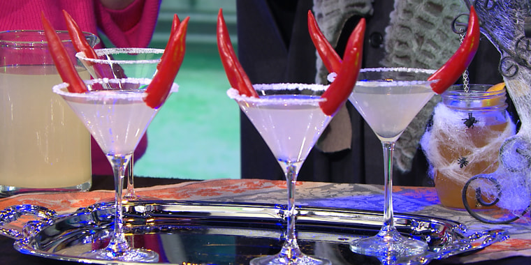 Maureen Petrosky's Haunting Mules, Pina Ghouladas, Fire and Brimstone, Devilish Margarita