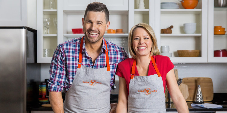 Dylan dreyer, ryan scott, today show cooking class, blueprint one pot cooking