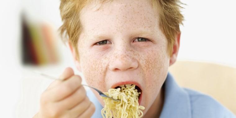 Instant noodles or soup
