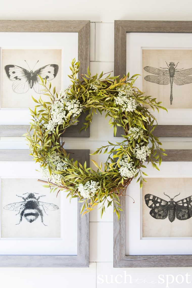 1. Greenery Wreath