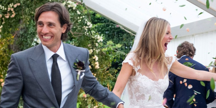 Gwyneth Paltrow and Brad Falchuk tied the knot this September.