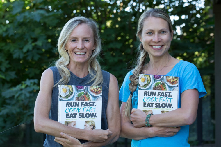 TCS New York City Marathon champion Shalane Flanagan and chef and nutrition coach Elyse Kopecky have written two cookbooks together.
