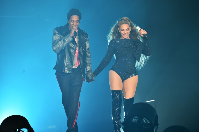 "Image: Beyonce and Jay-Z ""On the Run II"" Tour - Glasgow"