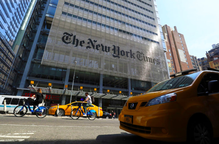 New York Times in New York City