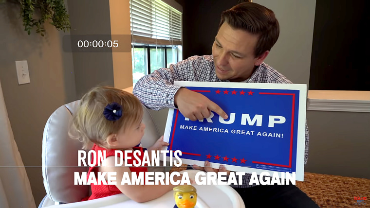 Rob DeSantis political ad.