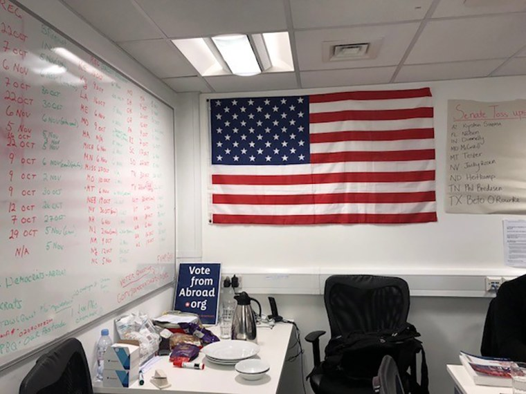 Image: U.S. Vote Foundation in London