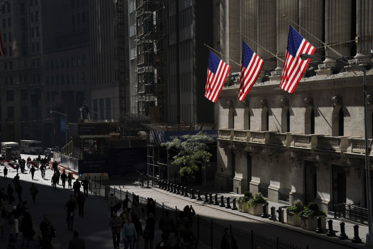 Image: A view of the New York Stock Exchange in New York City