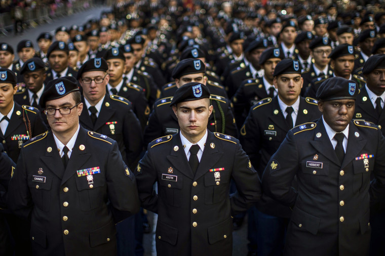 Image: Veteran's day parade