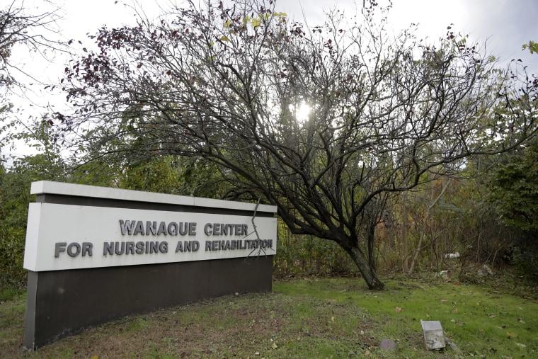 Image: Ext view of Wanague Center Sign
