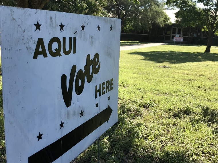 Image: Hispanic Vote Sign