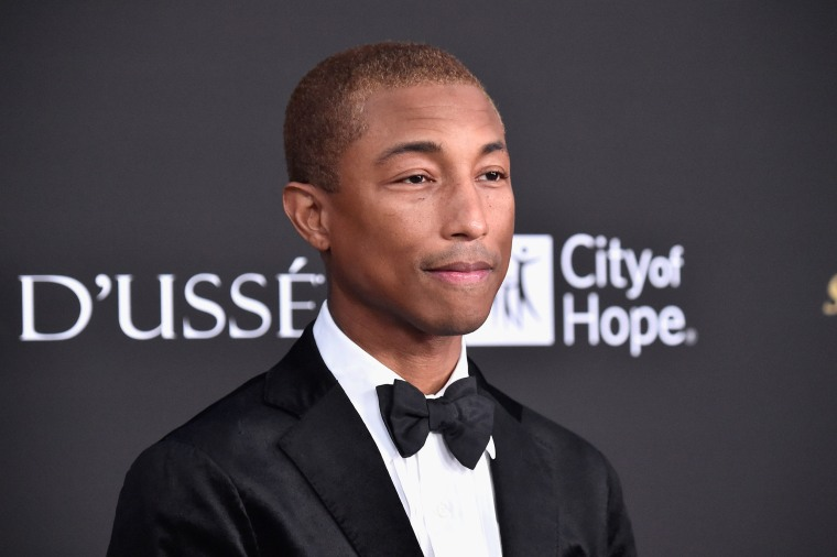 Image: Pharrell Williams attends the City of Hope Spirit of Life Gala 2018 at Barker Hangar
