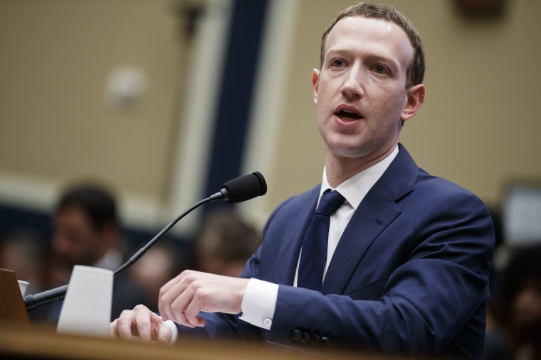 Image: CEO of Facebook Mark Zuckerberg testifies before the House of Representatives House Energy and Commerce Committee