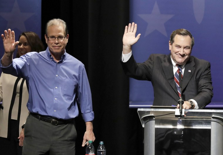 Image: Joe Donnelly, Mike Braun