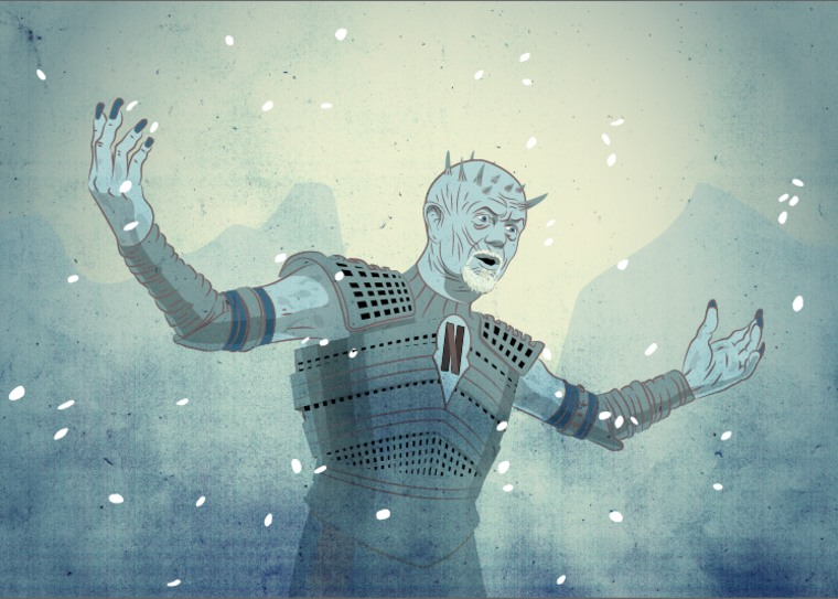 Netflix CEO Reed Hastings as the leader of the White Walkers.