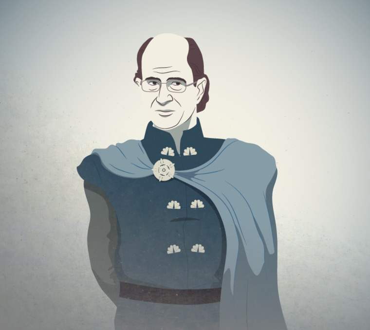 Comcast CEO Brian Roberts as the leader of House Tyrell.