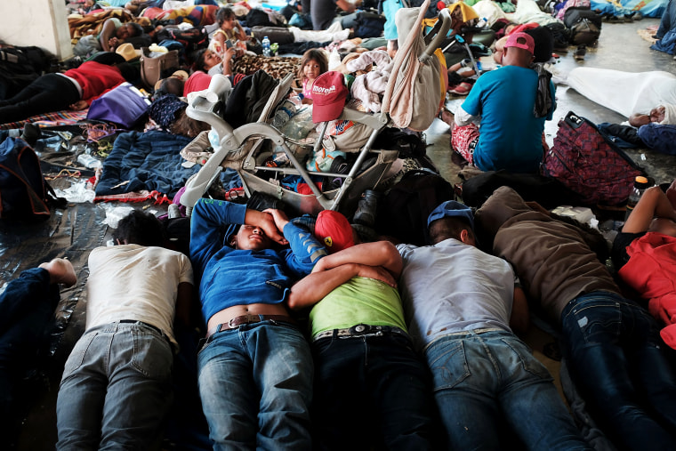 Image: Thousands Of Hondurans In Migrant Caravan Continue March Through Mexico