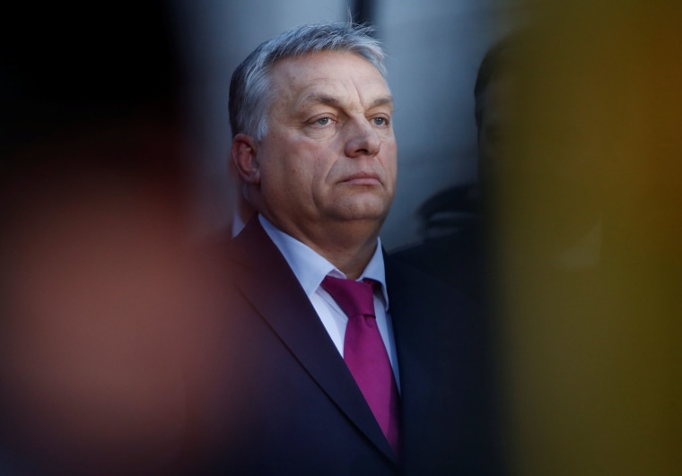 Image: Hungarian Prime Minister V   ictor Orban