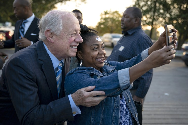 Image: Democratic Senate Candidate Phil Bredesen Holds Fish Fry In Nashville, Tennessee