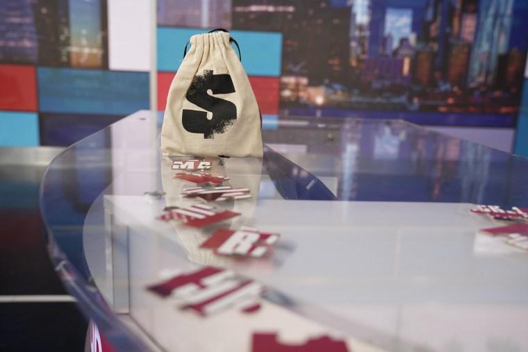 Rachel Maddow Bag Man Puzzle Bag