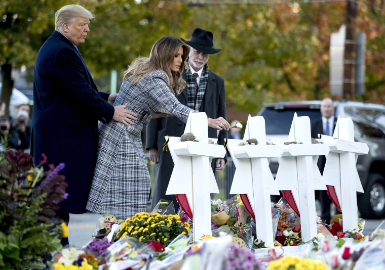 Image: Donald Trump, Melania Trump, Jeffrey Myers