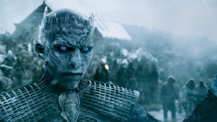 The Night King in HBO's Game of Thrones.