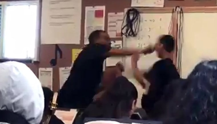 More than $90k raised for California teacher who punched student