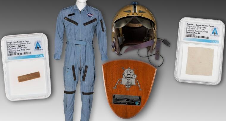 Image: Space memorabilia