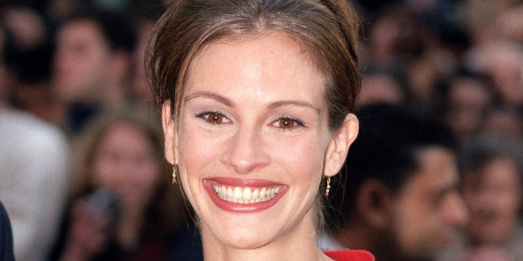 Julia Roberts says her unshaven armpits weren't a 'statement.'