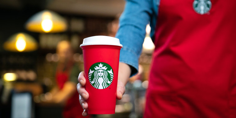 Did you a score a free reusable holiday cup from Starbucks?