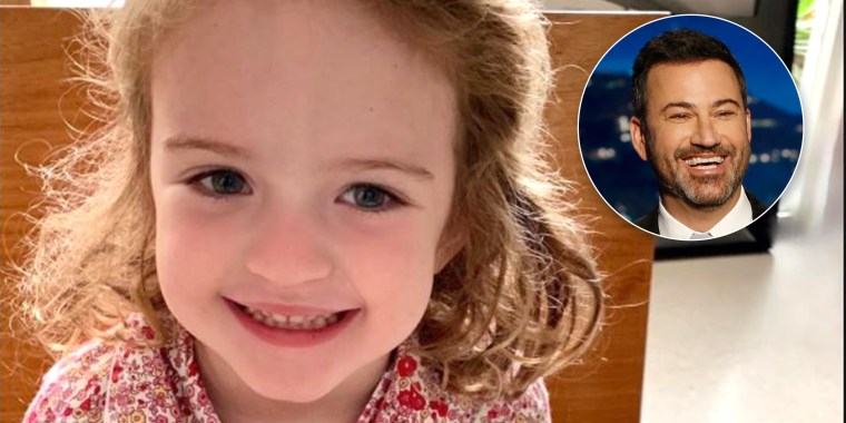Jimmy Kimmel making VOTE pancakes for his 4-year-old Jane