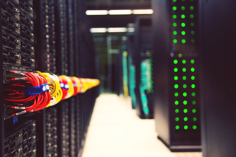 Image: Powerful supercomputer