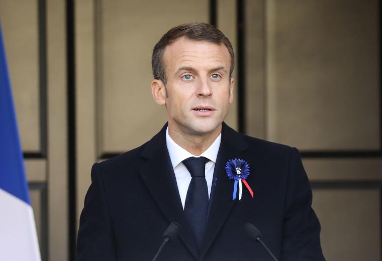 Image: FRANCE-WWI-HISTORY-CENTENARY-POLITICS