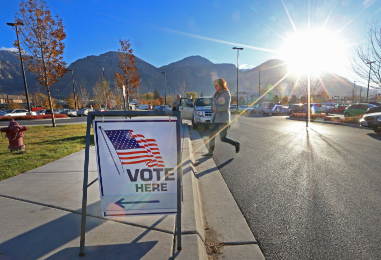Image: Voters Across The Country Head To The Polls For The Midterm Elections