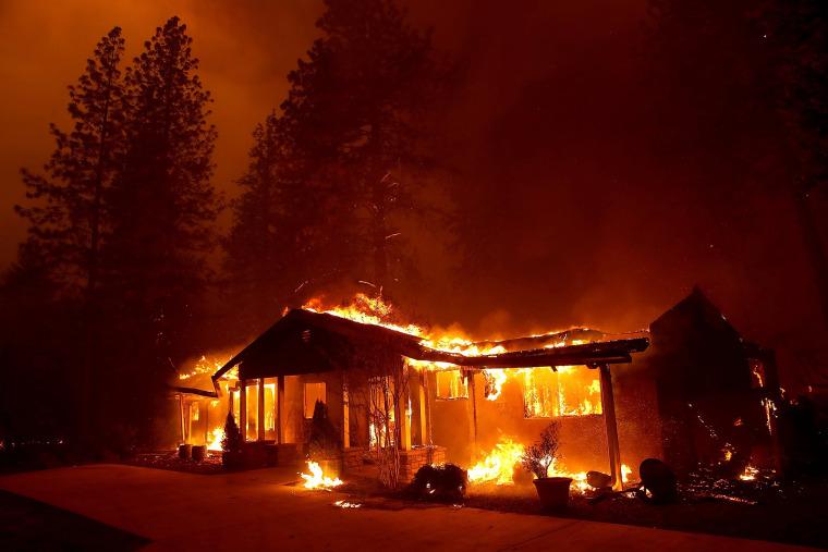 Image: Paradise Wildfire