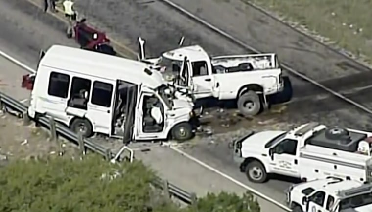 Thirteen people were killed in the church bus crash near Uvalde, Texas in March 2017.